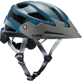 Bern FL-1 TRAIL Helmet with Visor Satin Muted Teal